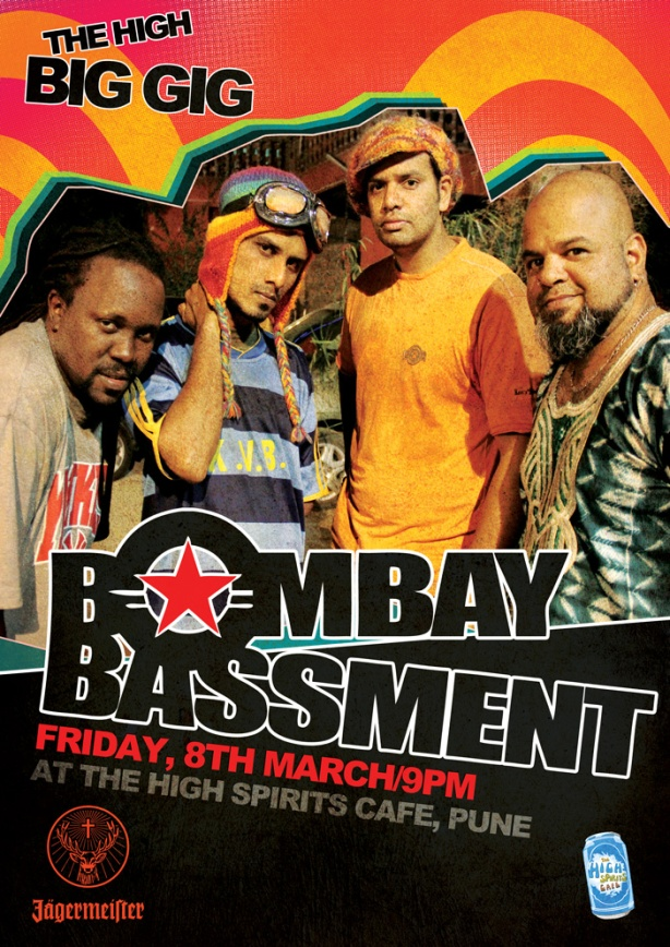 Bombay Bassment Live @ High Spirits, Pune - Friday 8th March!